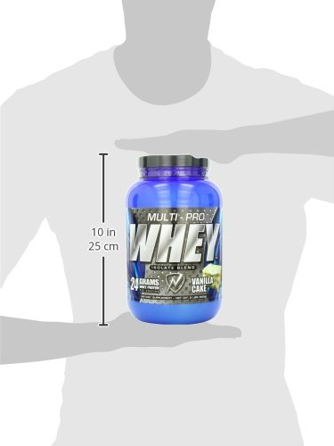 New Whey Nutrition Multi-pro Whey Isolate Blend, Vanilla Cream, 2 lbs