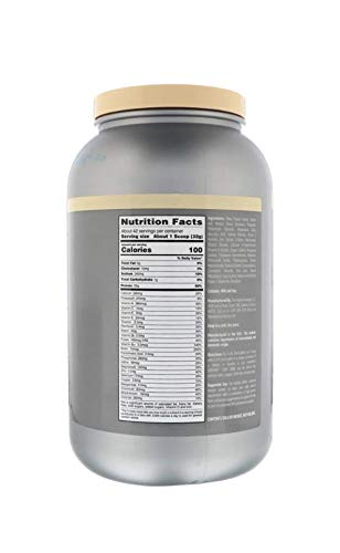 Isopure Zero Carb, Vitamin C and Zinc for Immune Support, 25g Protein, Keto Friendly Protein Powder, 100% Whey Protein Isolate, Flavor: Mango Peach, 3 Pounds (Packaging May Vary)