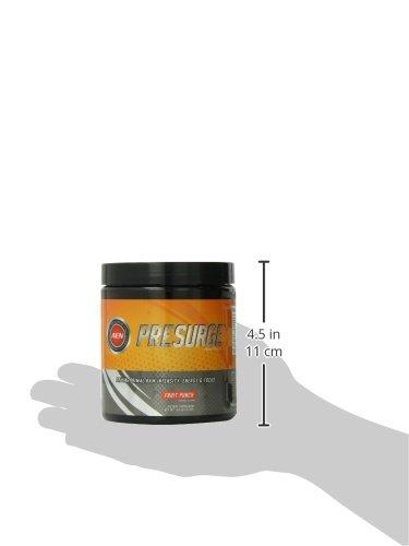 Athletic Edge Presurge Supplement, Fruit Punch, 210 Gram