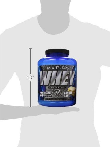New Whey Nutrition Multi-pro Whey Isolate Blend, Vanilla Cream, 5 lbs