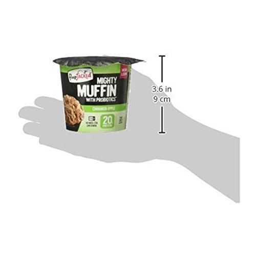Flapjacked Muffin Cinnamon Apple Seasalt, 1.09 oz