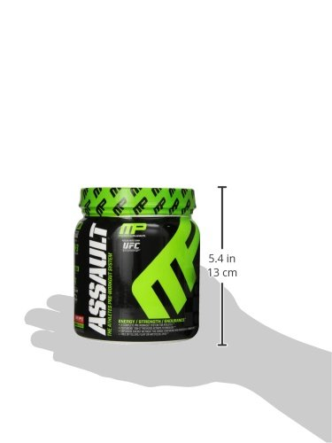 Muscle Pharm Assault Pre-Workout Supplement, Candy Apple, 0.96 Pound