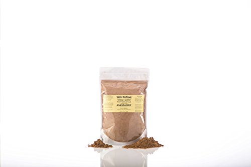 Organic Anandamide 222g by Sun Potion - Raw Unsweetened Cacao Powder and Tonic Herbs - Includes Tocos Ashwagandha Reishi Maca Moringa Turmeric Astragalus Cayenne Cinnamon and Others