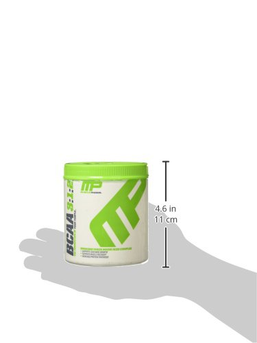 MusclePharm Essentials BCAA Powder, Post-Workout Recovery Drink, Blue Raspberry, 30 Servings