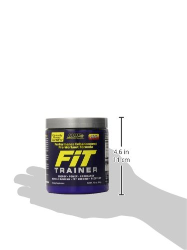 MHP Fit Trainer Pre-Workout Formula, Fruit Punch, 7.2 Ounce