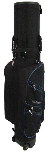CaddyDaddy Golf Co-Pilot PRO Hybrid Travel Bag (Black/Blue, 8-Inch)