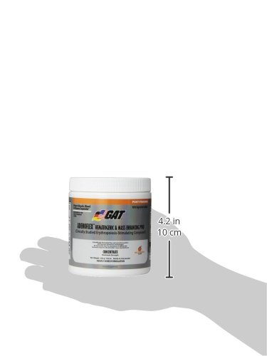 GAT Adenoflex, Mass Enhancing Heavily Dosed Post-Training Pump Formulation, Melonberry, 300 Gram