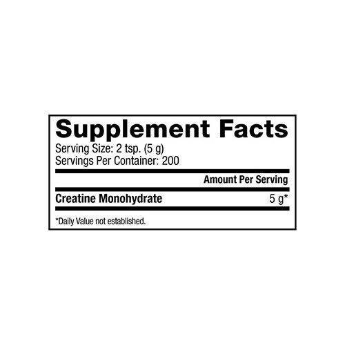 Dymatize Nutrition Creatine Micronized Powder, 1.1 Pound