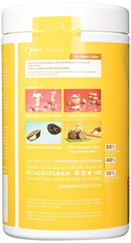 Quest Nutrition Chocolate Milkshake Protein Powder, High Protein, Low Carb, Gluten Free, Soy Free, 2 Pound