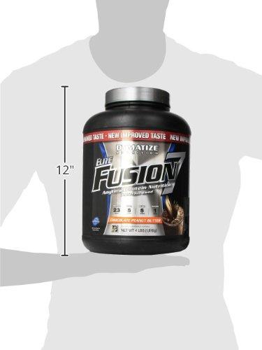 Dymatize Nutrition Elite Fusion-7 Drink, Choc Pb, 4 Pound