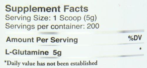 Myogenix Glutamine 1000 Grams, 2.2 Pounds