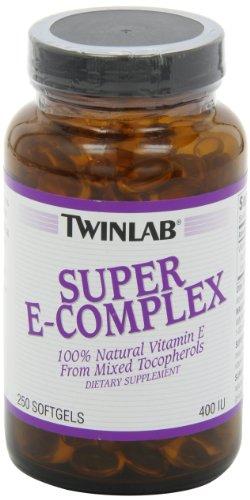 Twinlab Super E-Complex 400 IU, 250 Softgels