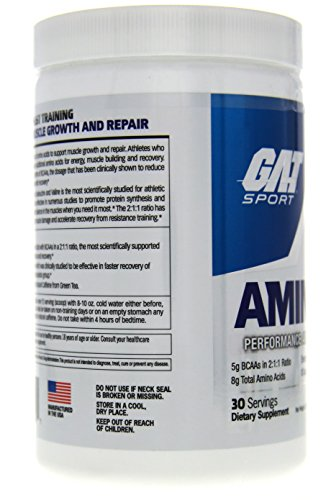 GAT Amino Gt Supplement, Topical Lime Mojito, 390 Gram