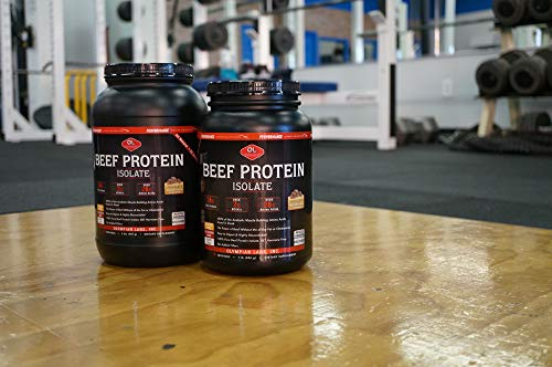 Olympian Labs Beef Protein Isolate lb, 1 Pound, Chocolate, 16 Ounce
