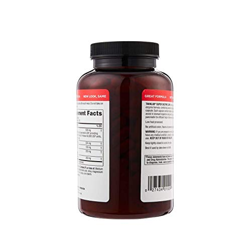Twinlab Super Enzyme Caps Digestive Support 200Cap
