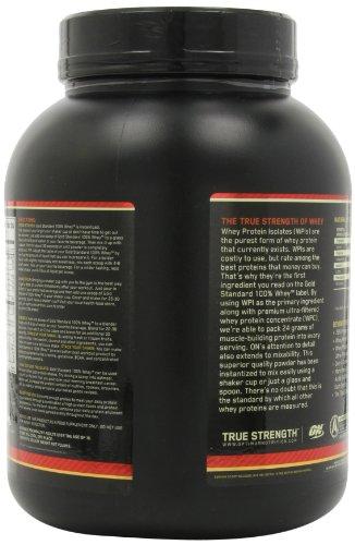 Optimum Nutrition Gold Standard 100% Whey Nutritional Drink, Cinnamon Graham Cracker, 3.33 Pound