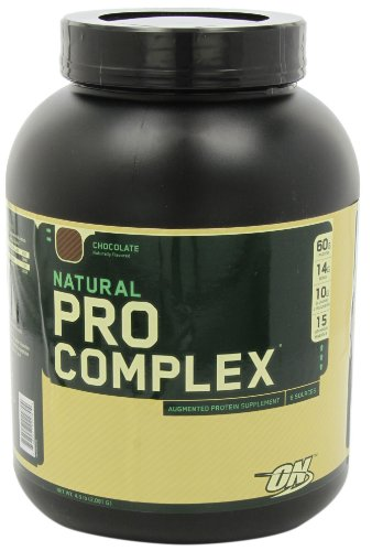 Optimum Nutrition Natural Pro Complex, Chocolate, 4.6 Pound