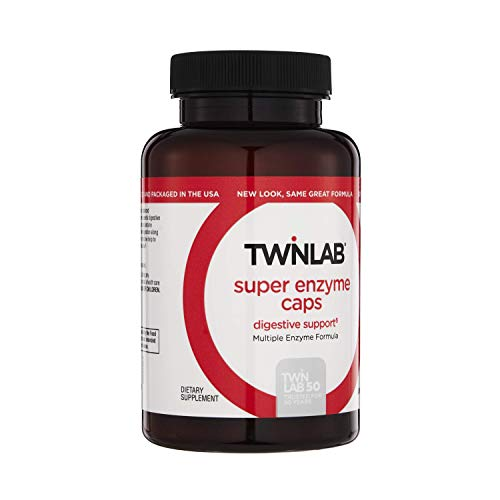 Twinlab Super Enzyme Caps Digestive Support 50Cap