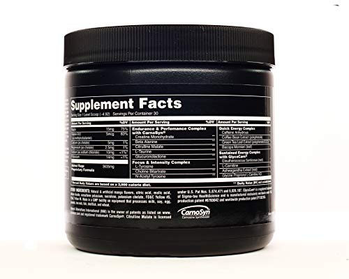 Animal Rage XL - Pre Workout Ultimate Energy and Performance Stack, Mango Unchained