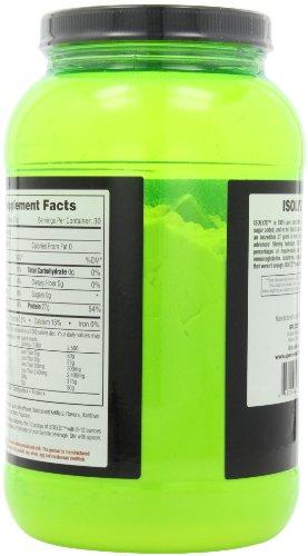 Species Nutrition Isolyze, Vanilla Peanut Butter, 2.05 Lbs Tub