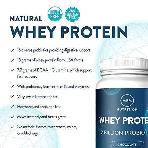 MRM All Natural Whey Protein Powder - 2 lbs - Dutch Chocolate