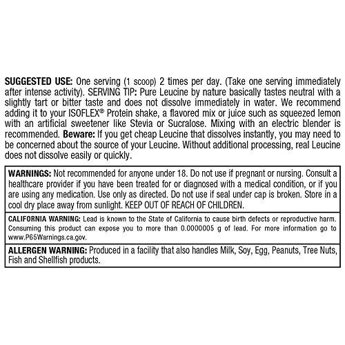 ALLMAX Nutrition Leucine, 5,000 mg, 14.1 oz (400 g)