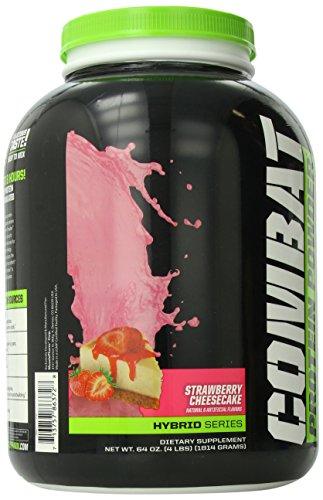 Muscle Pharm Combat Powder, Strawberry Cheesecake, 4 Pound