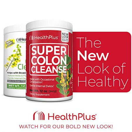 Health Plus Super Colon Cleanse, 45 Servings, 12 Ounce (Pack of 1)