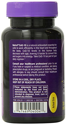 Natrol CoQ-10 150mg Softgels, 30-Count