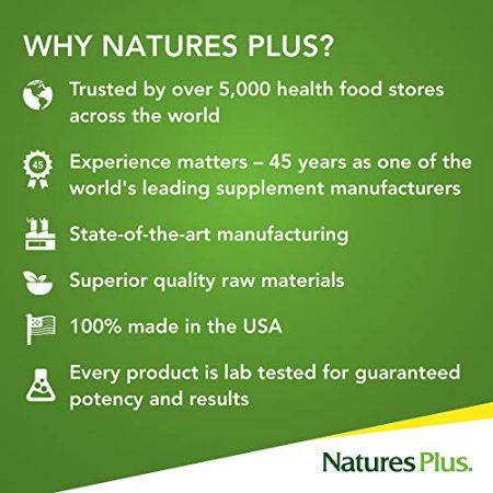 NaturesPlus Source of Life Gold Tablets - Vegetarian Tablets - High Potency, Organic Whole Food Multivitamin - With Probiotics & Antioxidants - Gluten-Free - 30 Servings, 90 Count (Pack of 1)