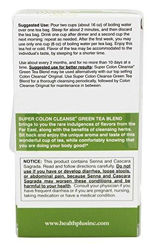 Colon Cleanse Green Tea, 20 Bags