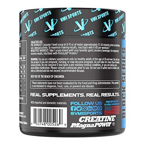 VMI Sports, S.M.A.R.T. Creatine, Unflavored, 30 Servings, Creatine Powder Supplement, Boost Muscle Strength, Stamina, Recovery, and Energy, Ideal for Pre- or Post-Workout Drinks, Sugar Free