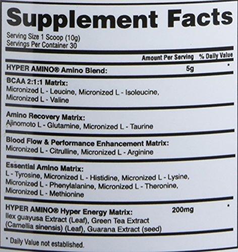 Gaspari Nutrition Hyper Amino, Pink Lemonade, 30 Count