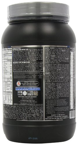 Dymatize Nutrition Elite Fusion, Creamy Vanilla Shake, 2.91-Pound Container