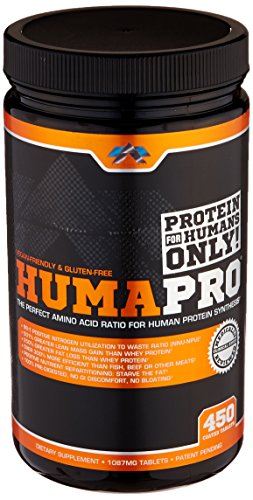 ALR Industries Humapro Tabs, Protein Matrix Formulated for Humans, Waste Less. Gain Lean Muscle, 1087mg, 450 Tabs