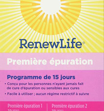 Renew Life - First Cleanse Total Body Cleanse - eliminate toxins and cleanse supplement - 60 vegetable capsules