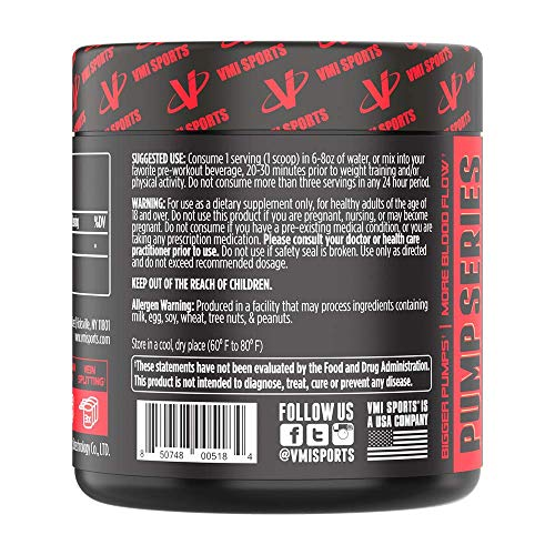 VMI Sports Agmapure Pure Agmatine Sulfate Dietary Supplement, 60 Servings, Unflavored