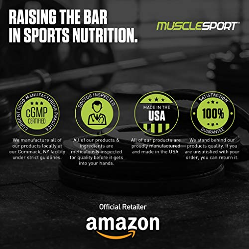 MuscleSport Lean Whey Revolution? Protein Powder - Whey Protein Isolate - Low Calorie, Low Carb, Low Fat, Incredible Flavors - 25g Protein per Scoop - 2lb Cinna Crunch