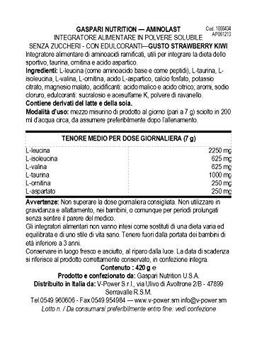 Gaspari Nutrition AminoLast Kiwi Strawberry 30 Servings, 14.8 oz. (420 g)