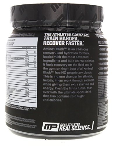 Muscle Pharm Black Label Amino 1 Supplement, Watermelon, 13.54 Ounce