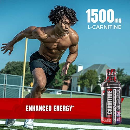 ProSupps L-Carnitine 1500 Liquid Fat Burner, Stimulant Free Metabolic Enhancer, 31 Servings (Blue Razz Flavor), 16 Fl OZ