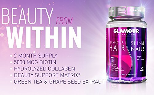 Midway Labs Glamour Nutrition Hair Skin & Nails, 60 Capsule