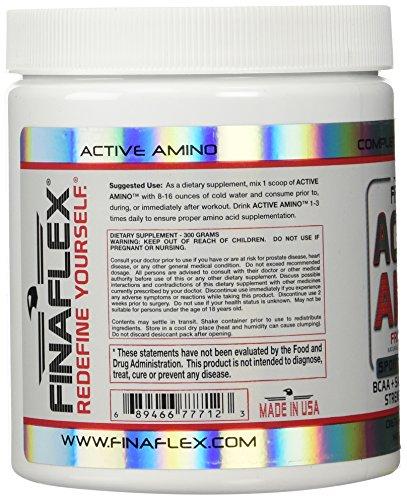 Finaflex Active Amino, Fruit Punch, 10.6 Ounce
