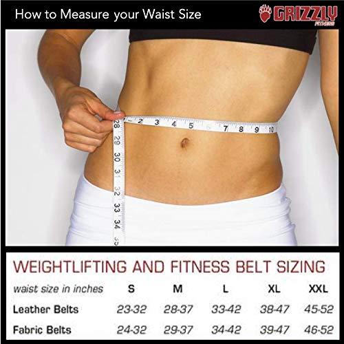 "Grizzly Fitness 4"" Bearhugger Nylon Training Belt - Large"