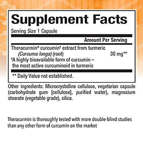 CurcuminRich Theracurmin by Natural Factors, Turmeric, 60 capsules (60 servings)