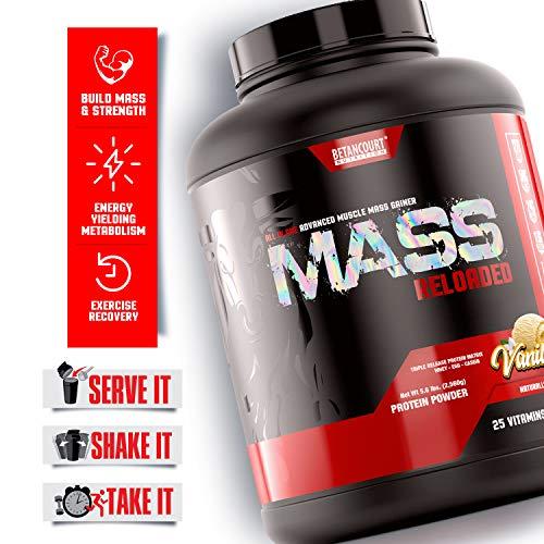 Betancourt Nutrition Mass Reloaded Powder, 5lb, Vanilla