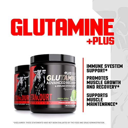 Betancourt Nutrition Plus Glutamine, Green Apple, 30 Servings