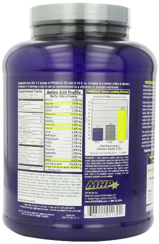 MHP, Probolic-SR Sustained Release Bio-Efficient Protein, Chocolate, 56 Servings