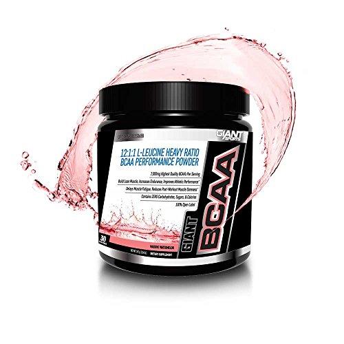 Giant Sports BCAA Powder, Watermelon, 0.55 Pound