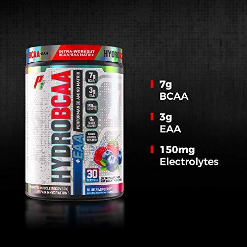 ProSupps® HydroBCAA® BCAA/EAA Full Spectrum Matrix, 7g BCAAs, 3g EAAS, 0g Sugar, 0g Carbs, (30 Servings, Miami Vice)
